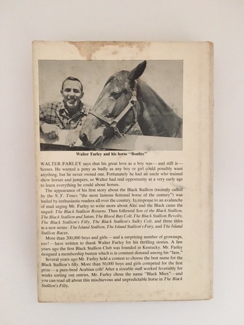 Black Stallion's Filly by Walter Farley, Signed 1952 - 9