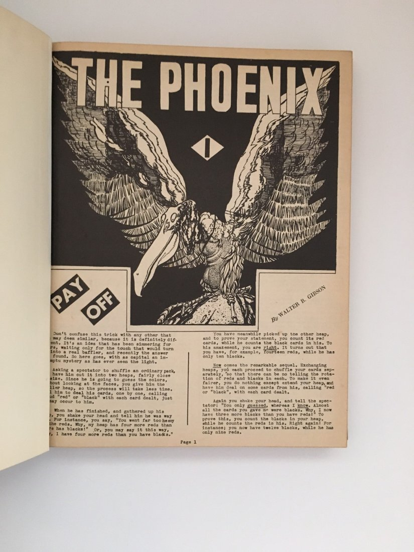 The Phoenix Issues #1-100 by Walter B. Gibson 1942 - 2