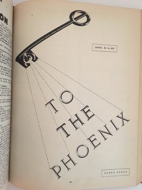The Phoenix Issues #1-100 by Walter B. Gibson 1942 - 4