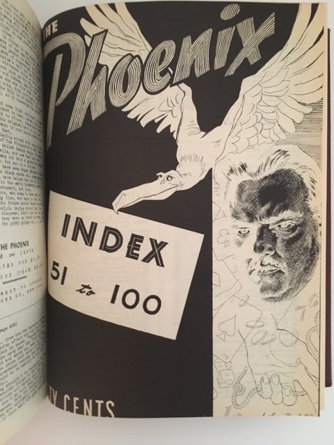 The Phoenix Issues #1-100 by Walter B. Gibson 1942 - 5