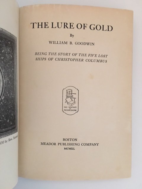 The Lure of God by William B. Goodwin 1940 - 4
