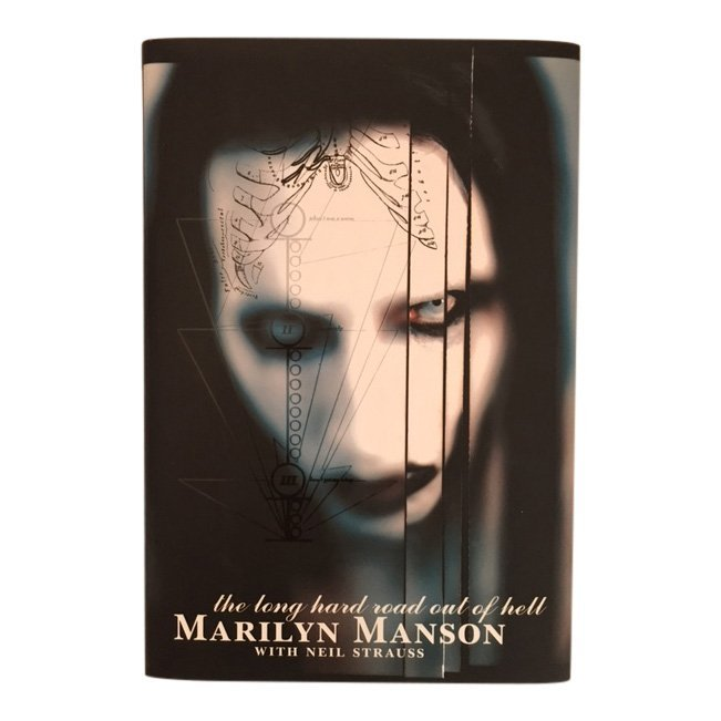 The Long Hard Road by Marilyn Manson, Signed 1998