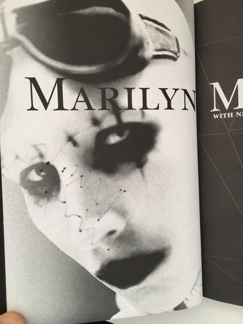 The Long Hard Road by Marilyn Manson, Signed 1998 - 4