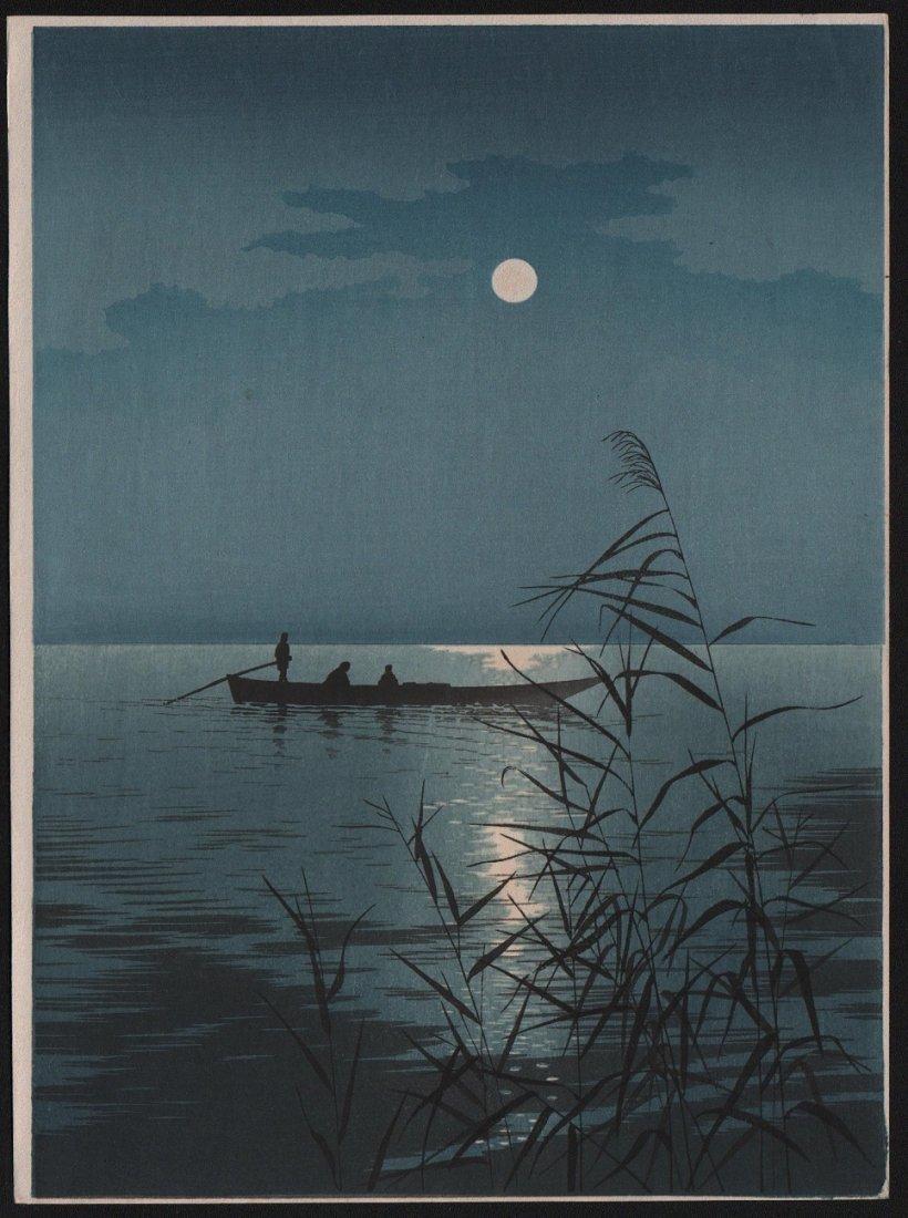 Koho Shoda: Moonlit Sea, 1910's