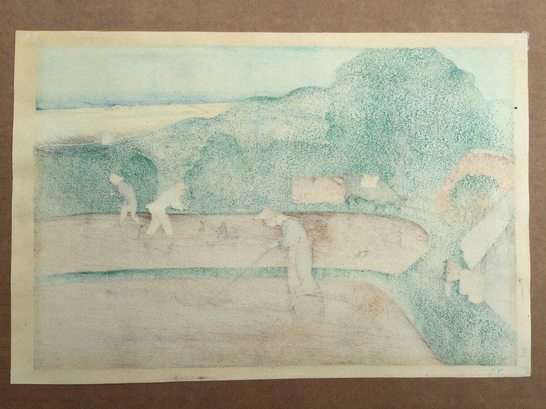 Ohno Bakufu: Rice Weeding, 1950 - 3