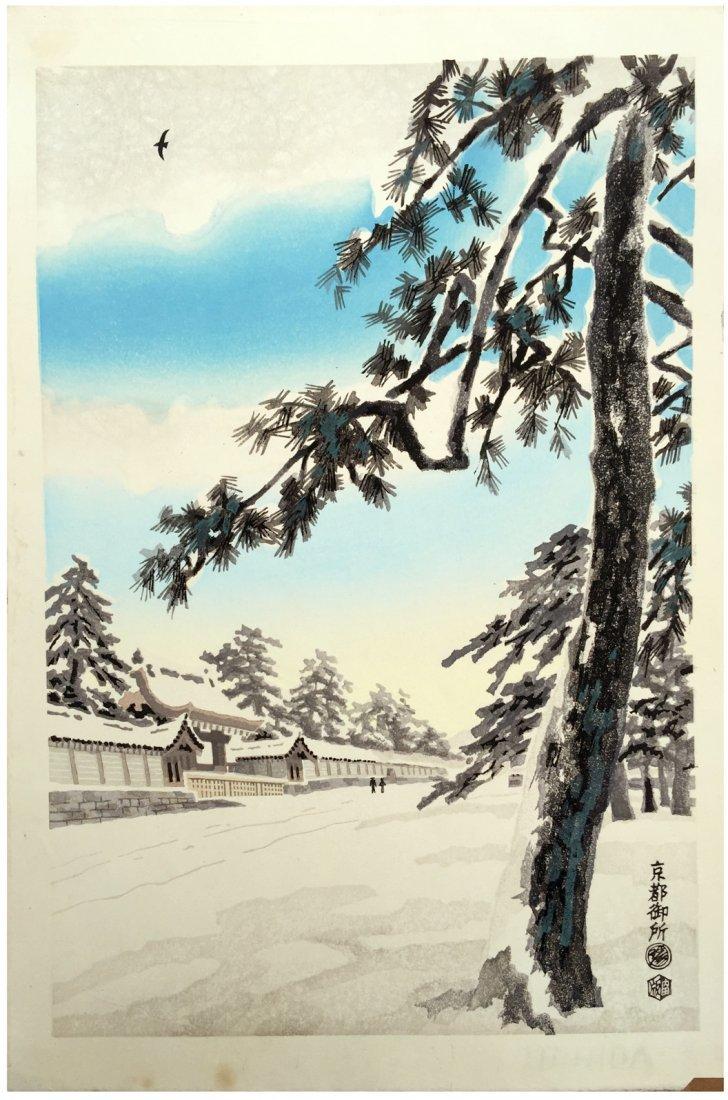 Eiichi Kotozuka: Imperial Palace in Snow, 1950