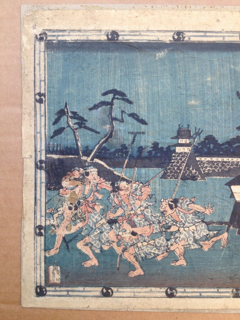 Hiroshige: The Storehouse of Loyal Retainers Act 3 - 2