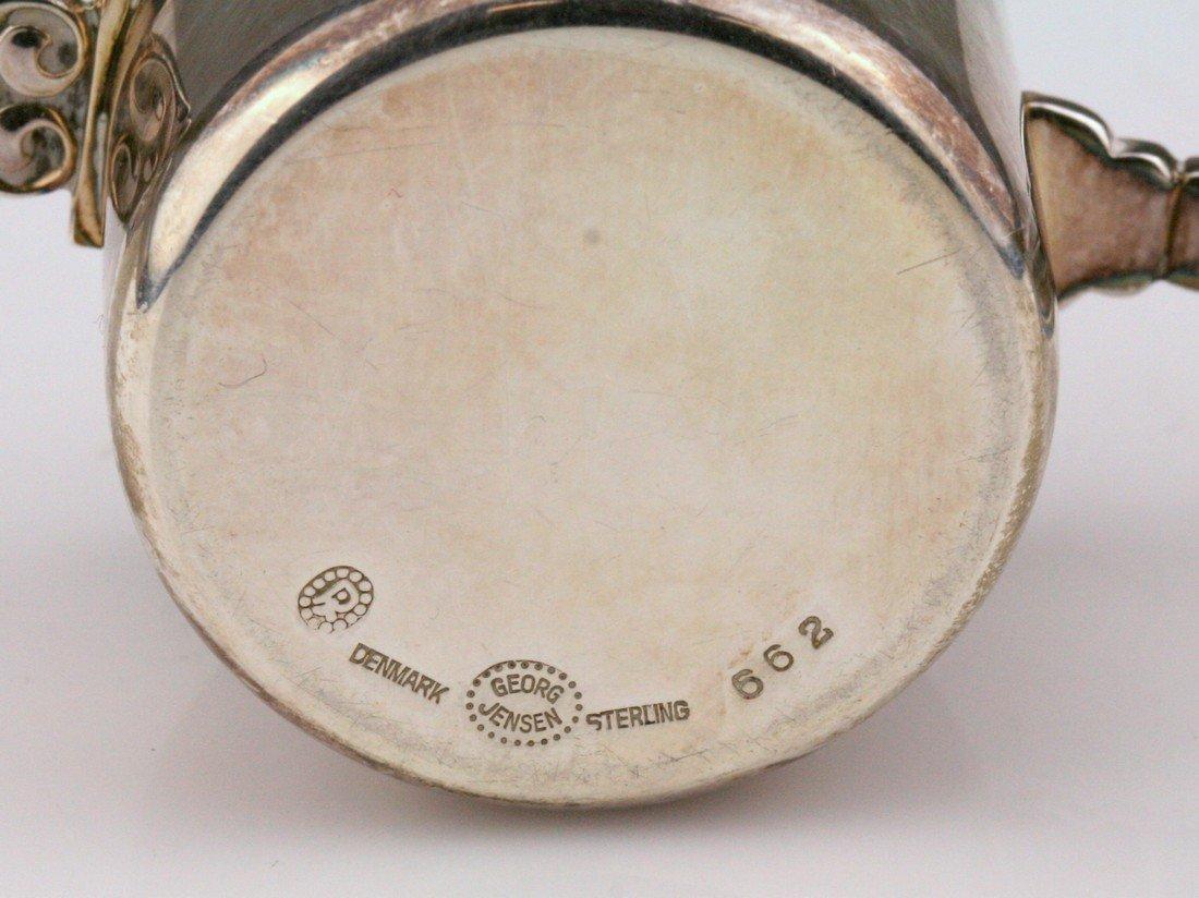 Rare Acorn by Georg Jensen Jigger Cup - 3