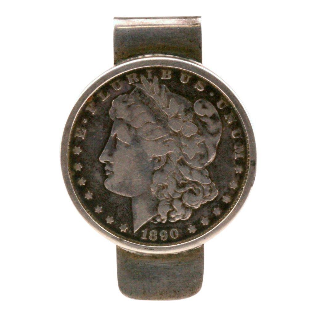 Tiffany & Co Sterling Silver Dollar Money Clip