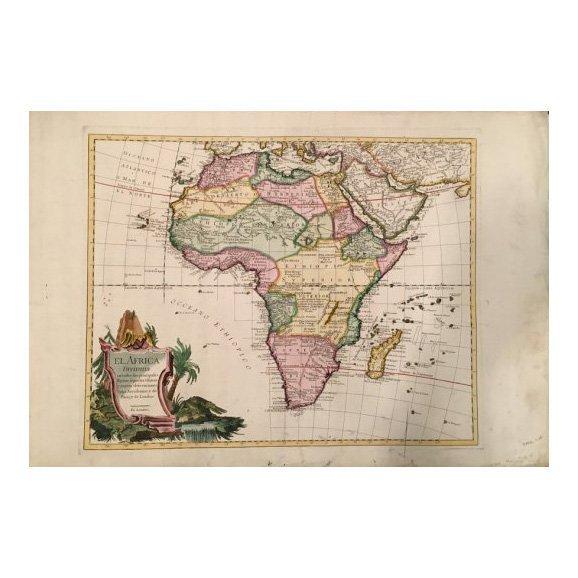 El Africa c.1730