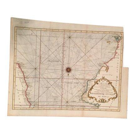 Carte de L'Ocean Meridional, 1746