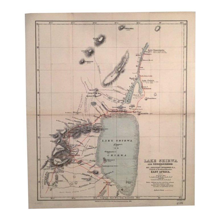 Lake Shirwa & Neighbourhood 1888