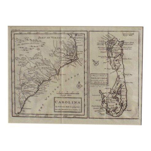 Carolina & Bermuda 1716