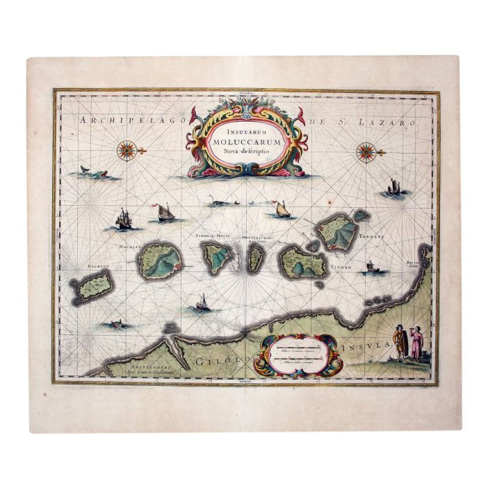 Spice Islands Indonesia/ Moluccas, 1636