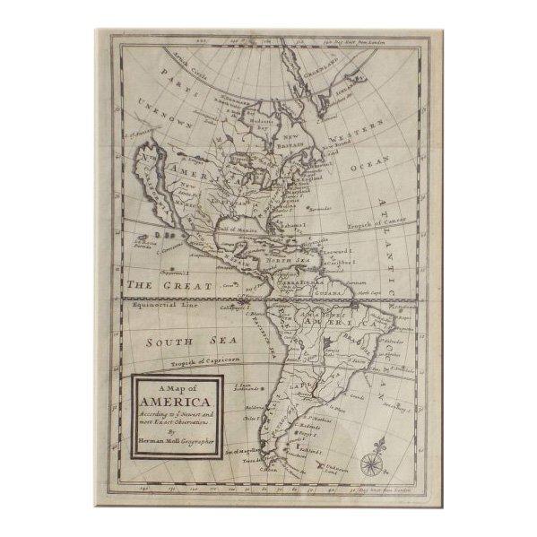 America by Herman Moll 1716