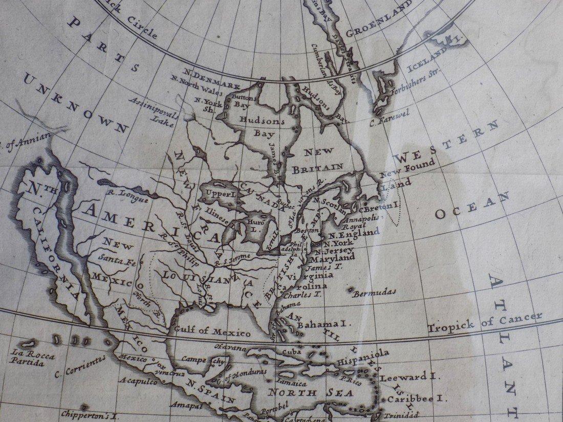 America by Herman Moll 1716 - 4