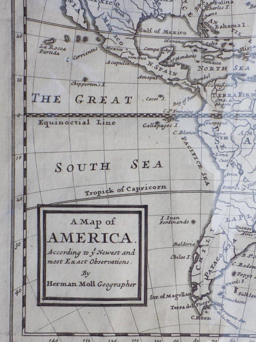 America by Herman Moll 1716 - 5