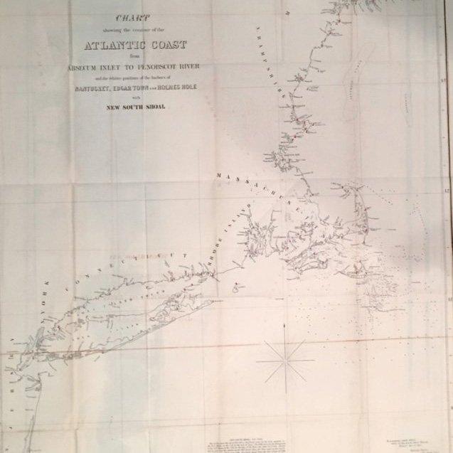 Atlantic Coast, U.S. Coast Survey, c. 1846