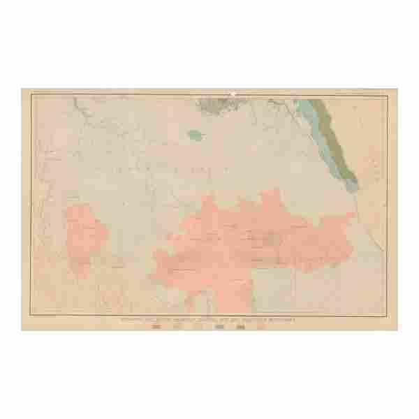 Geologic Map of the Colorado Plateau, SF Mountains 1882