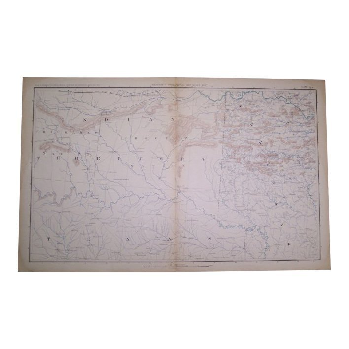 General Topographical Map 1893