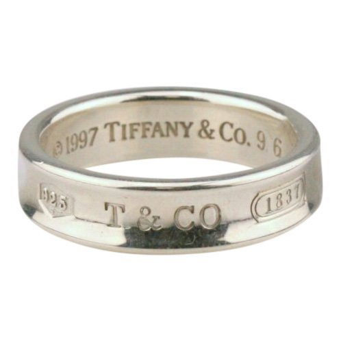 Tiffany & Co: Sterling Silver Men's Band Ring