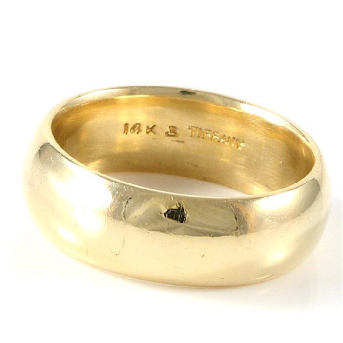 Tiffany & Co. 14K Yellow Gold Band