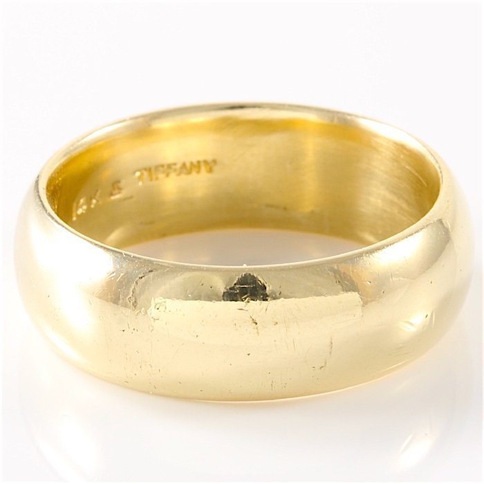 Tiffany & Co. 14K Yellow Gold Band - 2