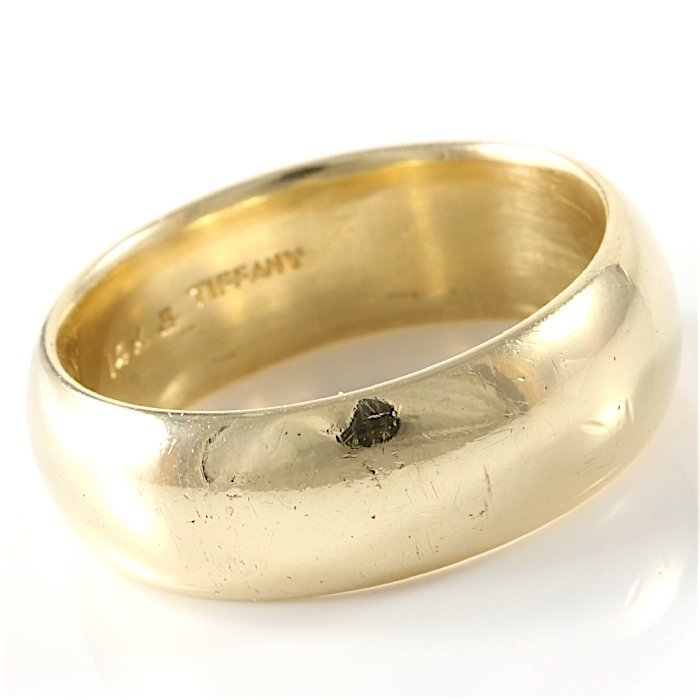 Tiffany & Co. 14K Yellow Gold Band - 3