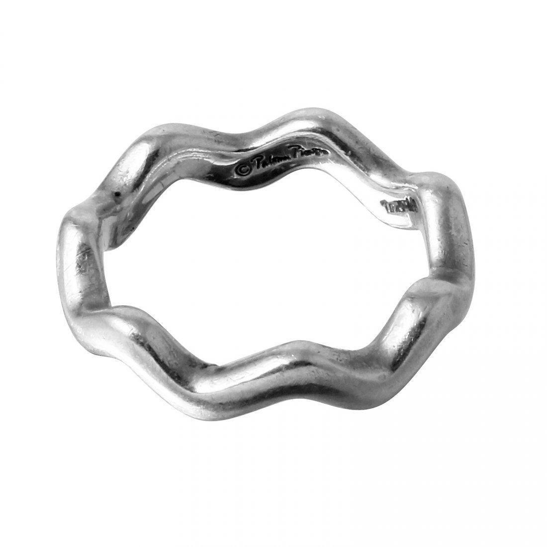 Tiffany & Co: Paloma Picasso Zig Zag Ring, Size 7.5 - 2