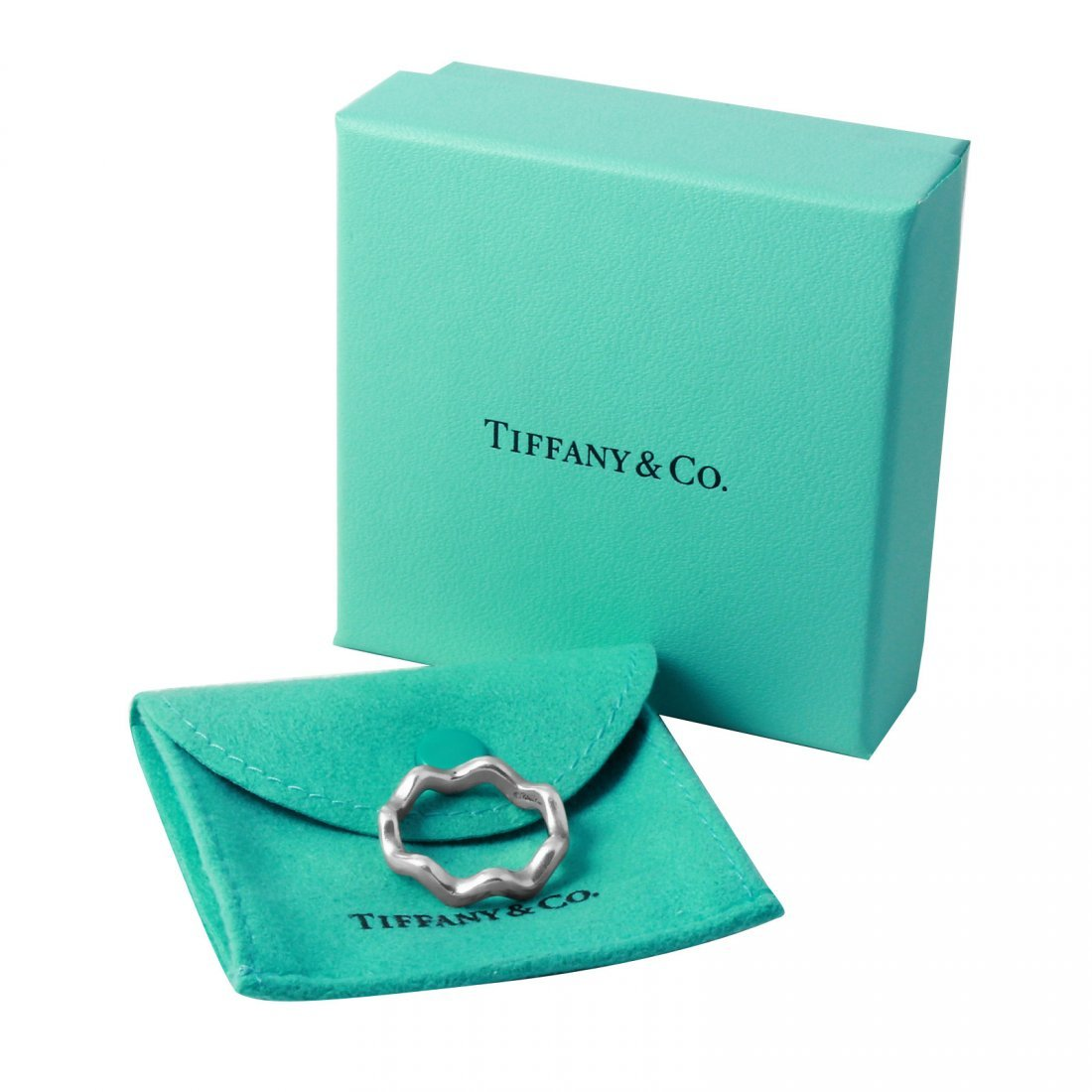 Tiffany & Co: Paloma Picasso Zig Zag Ring, Size 7.5 - 3