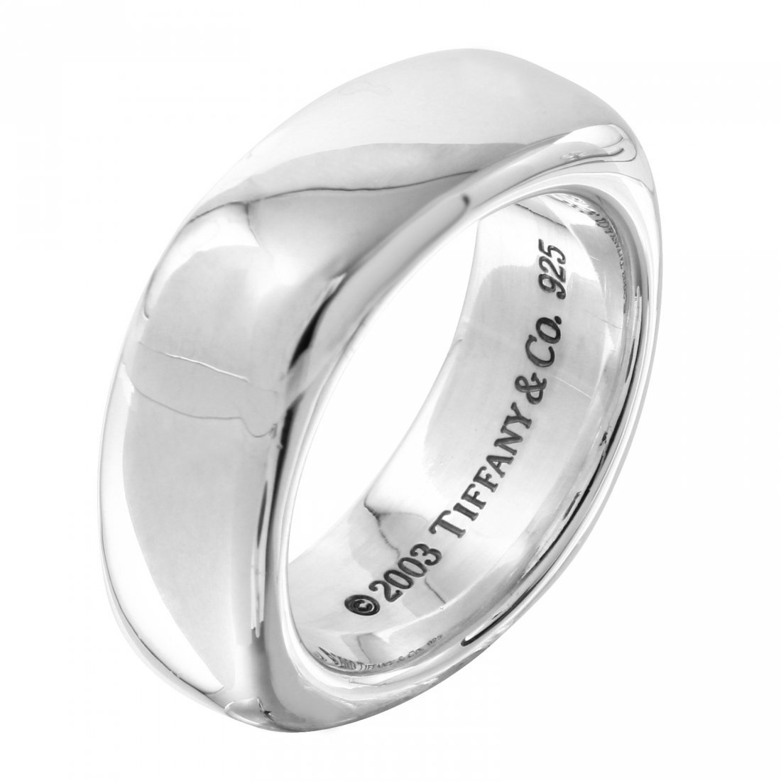 Tiffany and Co: Square Cushion Band Ring