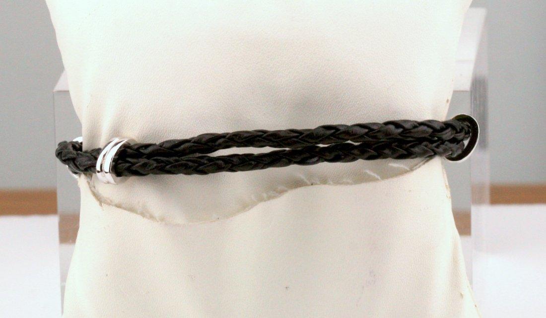 Judith Ripka: CZ & Sterling Rope Heart Bracelet - 2