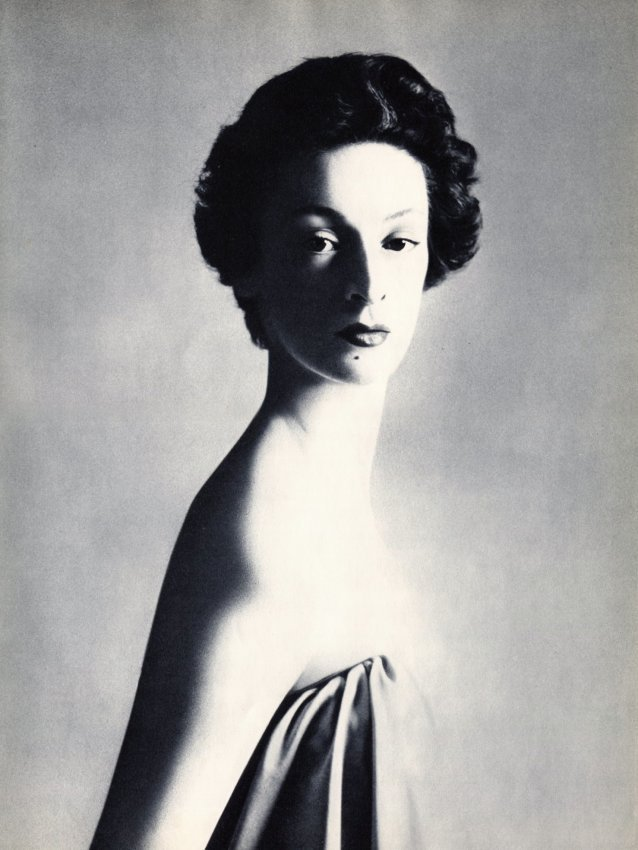 Richard Avedon: Signora Gianni Agnelli 1953