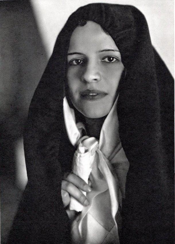Jose Ortiz Echague: Veiled Woman Puebla de Guzman