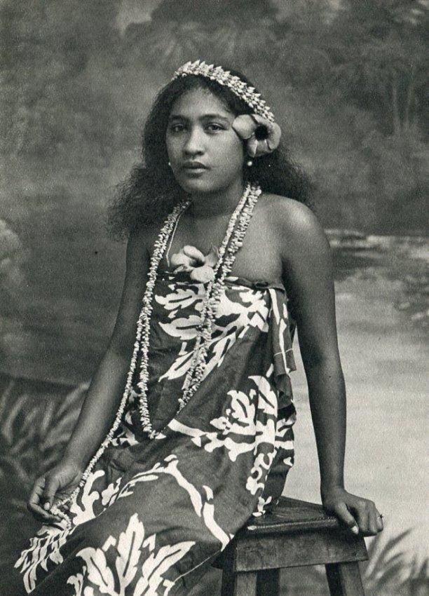 Lucien Gauthier: Indigenous Girl