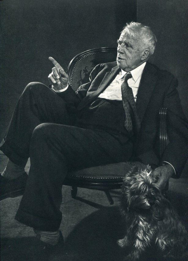 Yousuf Karsh: Robert Frost