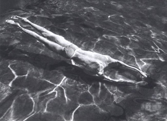 Andre Kertesz: Underwater Swimmer, Hungary