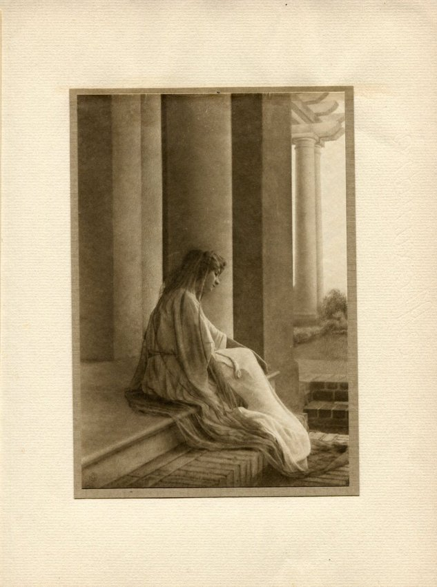 Adelaide Hanscom Leeson: Seated Woman