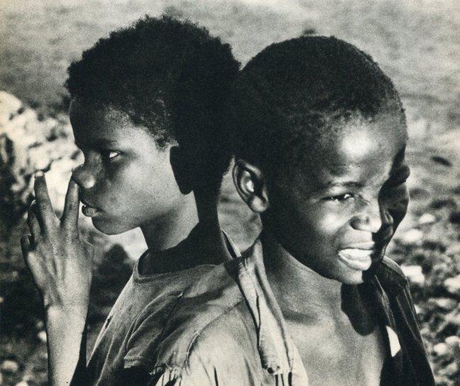 Herbert List: Children in Haiti