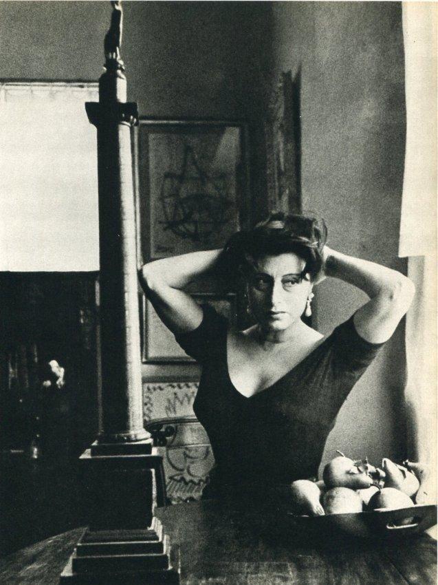 Sanford H Roth: Actress Anna Magnani