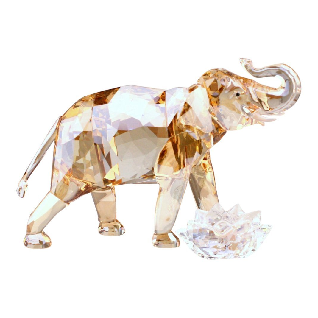 Swarovski Cinta Elephant Mother Crystal Figurine