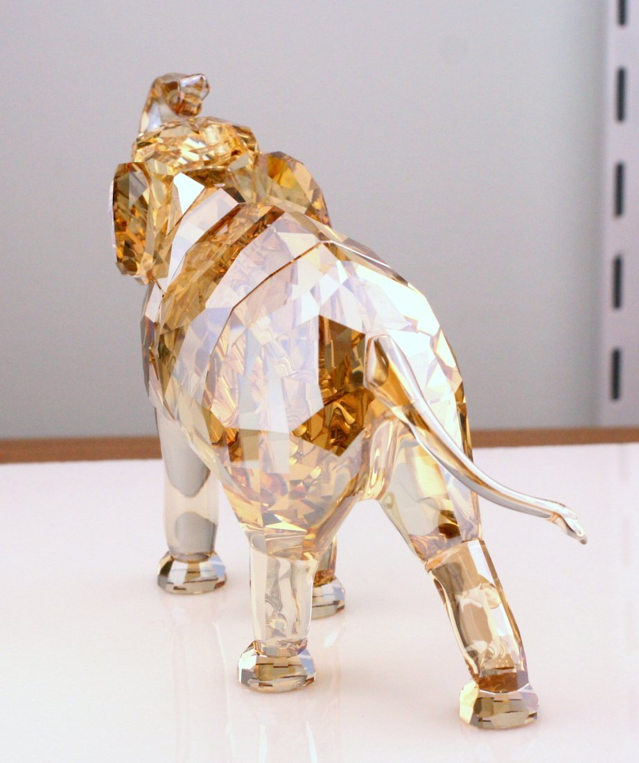 Swarovski Cinta Elephant Mother Crystal Figurine - 5