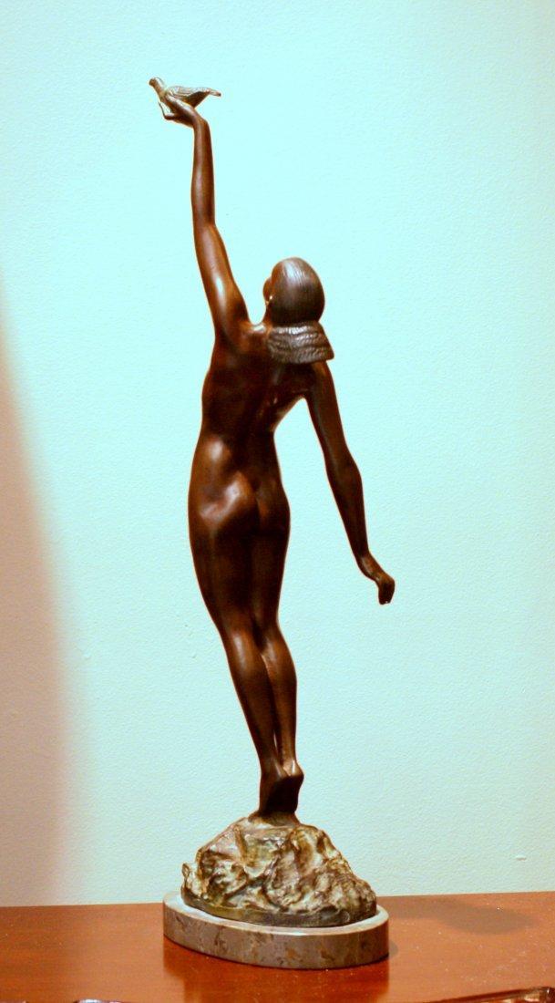 Le Faguays Message of Love Bronze Statue - 2