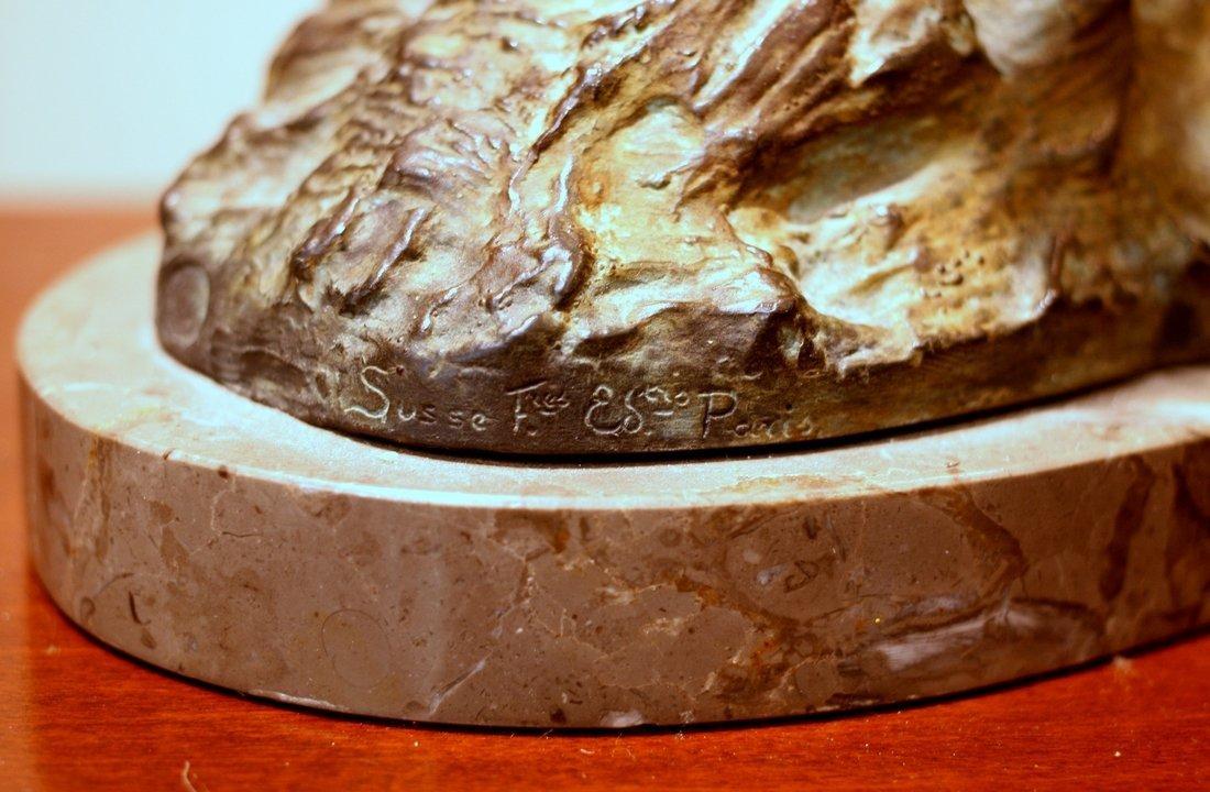 Le Faguays Message of Love Bronze Statue - 4