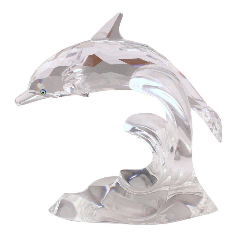 Swarovski Dolphin Crystal Figurine