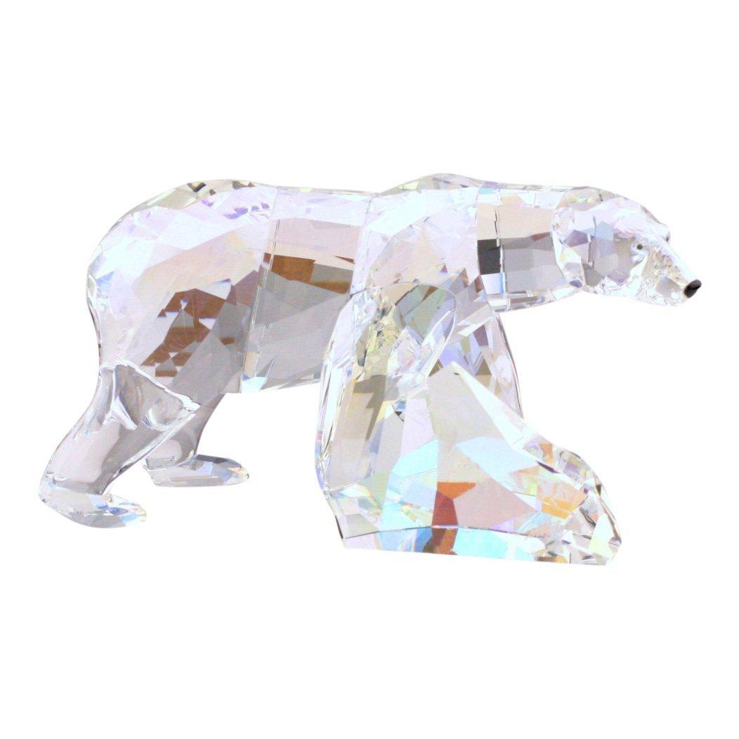 Swarovski Siku Polar Bear Crystal Figurine