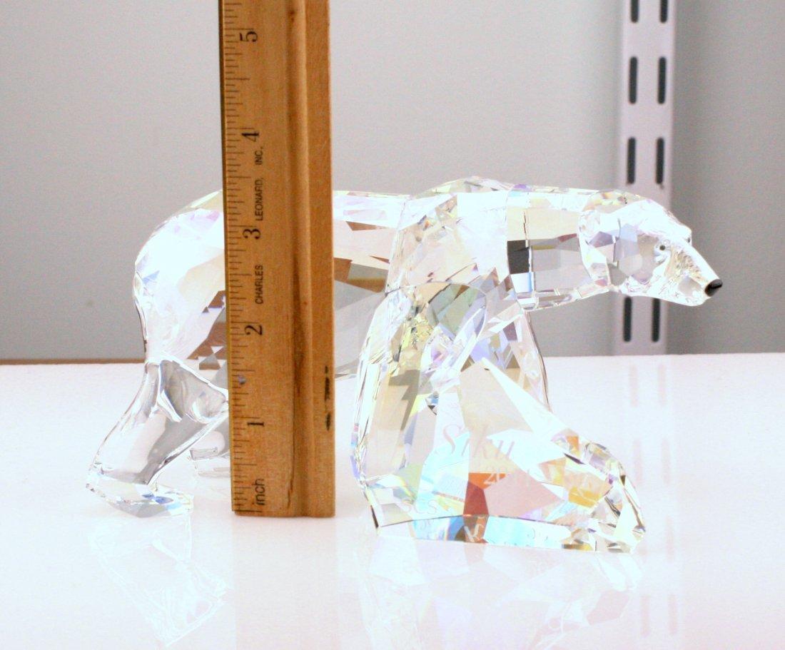 Swarovski Siku Polar Bear Crystal Figurine - 2