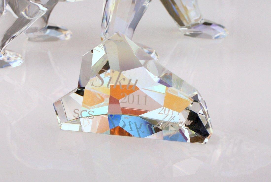 Swarovski Siku Polar Bear Crystal Figurine - 3