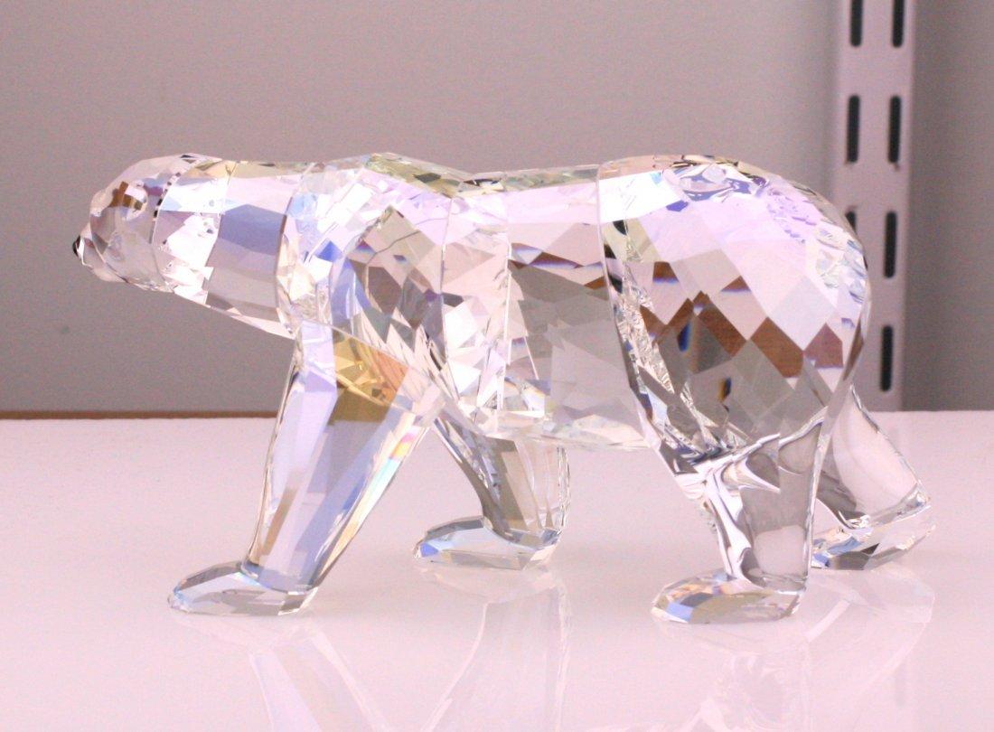 Swarovski Siku Polar Bear Crystal Figurine - 4