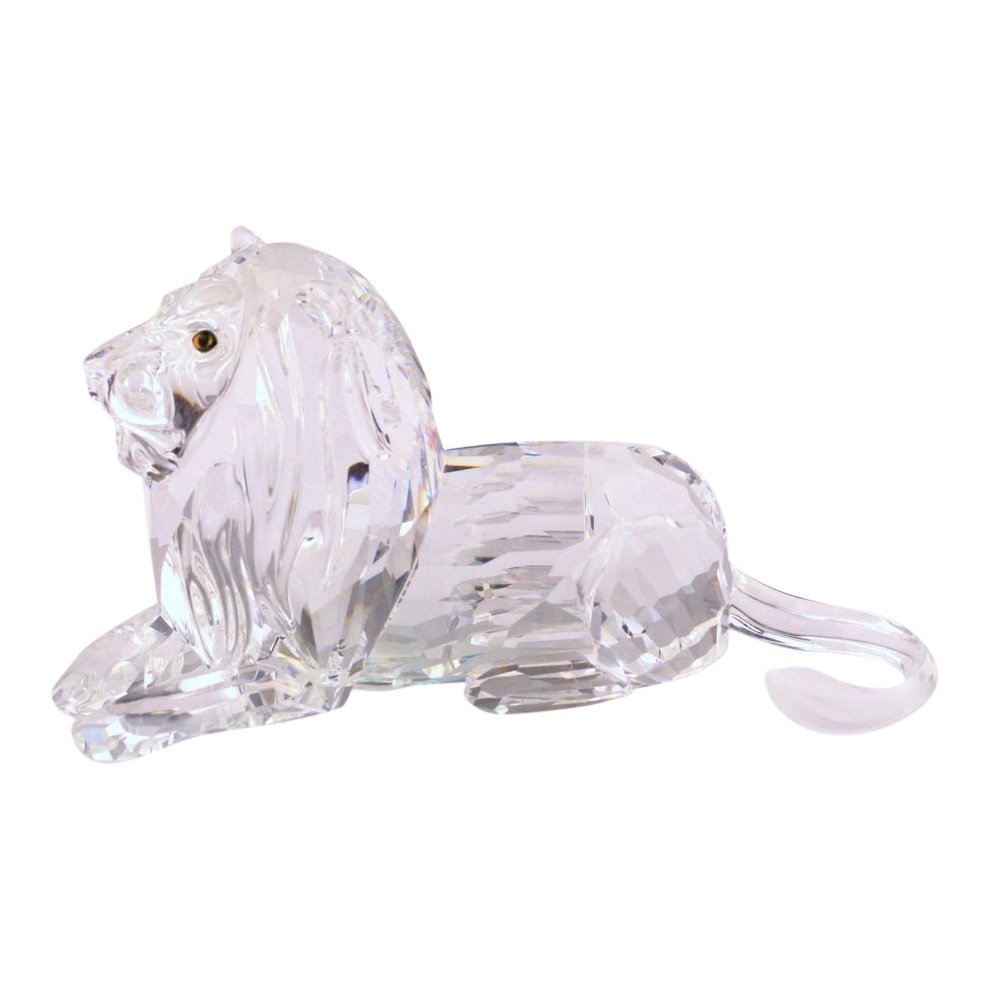 Swarovski Lion Crystal Figurine